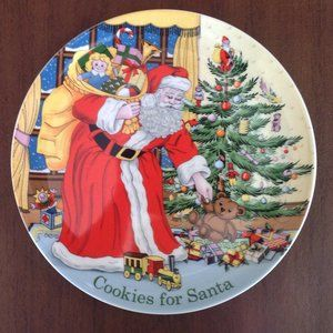 Spode Cookies For Santa Christmas Plate